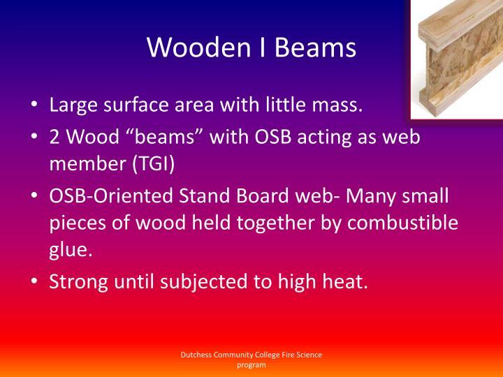 Wooden I Beams