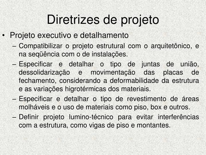 Diretrizes de projeto