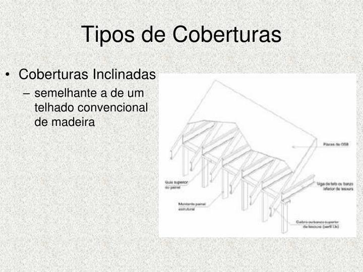 Tipos de Coberturas