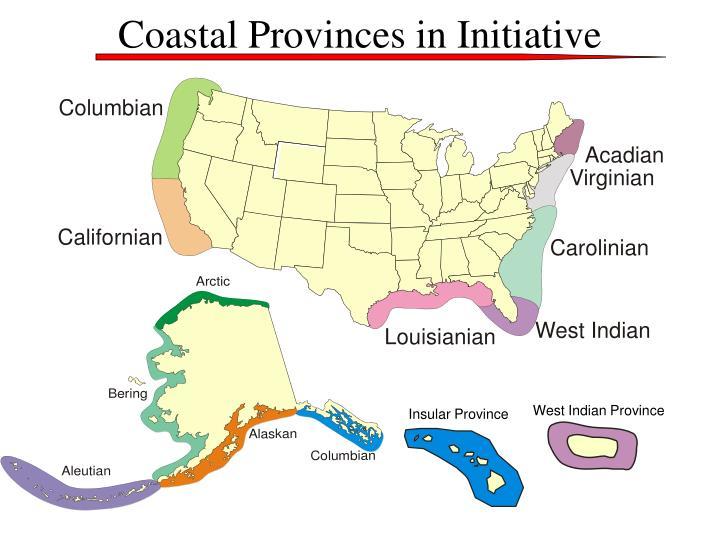 Coastal Provinces in Initiative