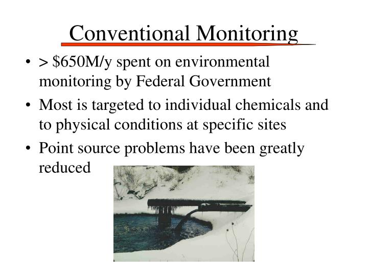 Conventional Monitoring