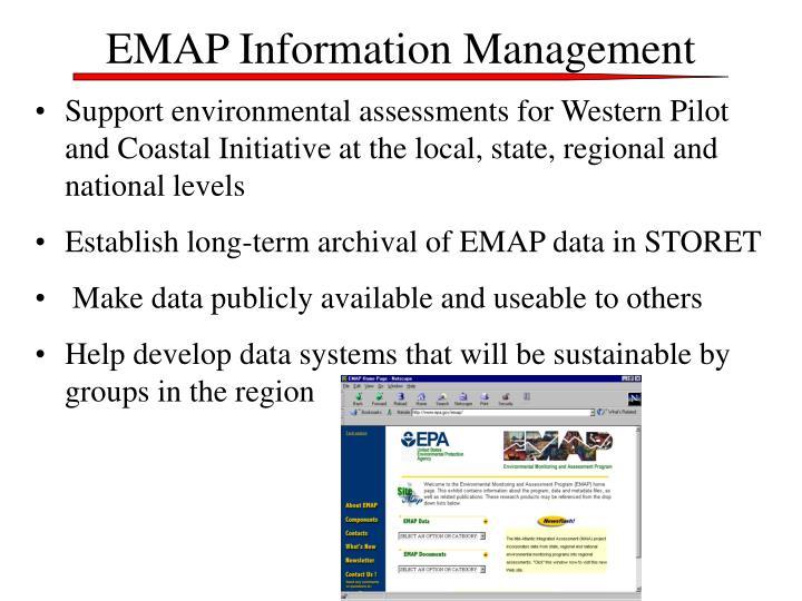 EMAP Information Management