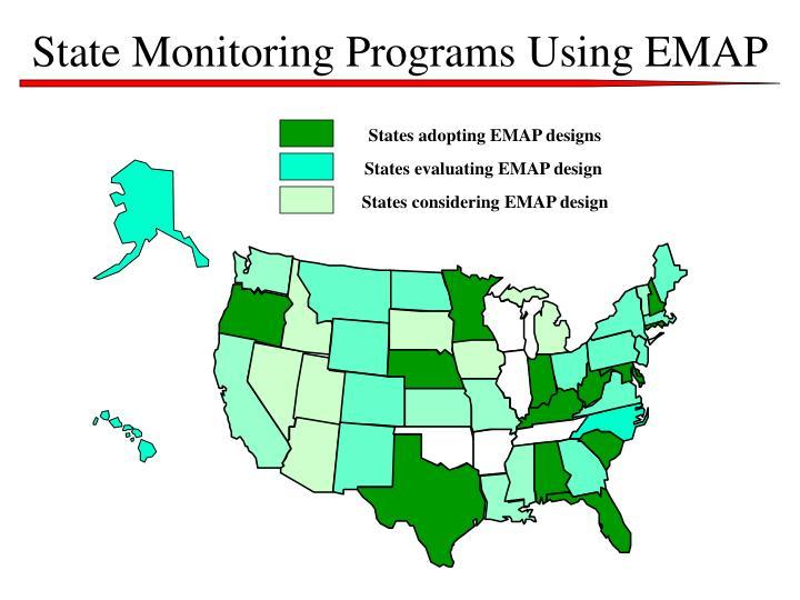 State Monitoring Programs Using EMAP