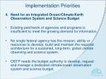 implementation priorities3