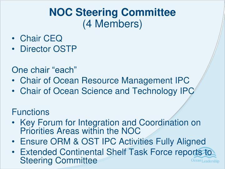 NOC Steering Committee
