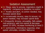 sedation assessment