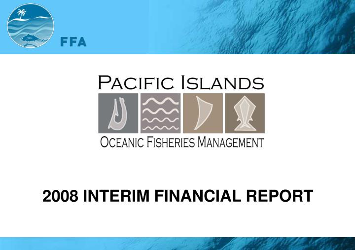 2008 INTERIM FINANCIAL REPORT