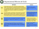 organizational mission goals