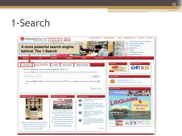 1-Search