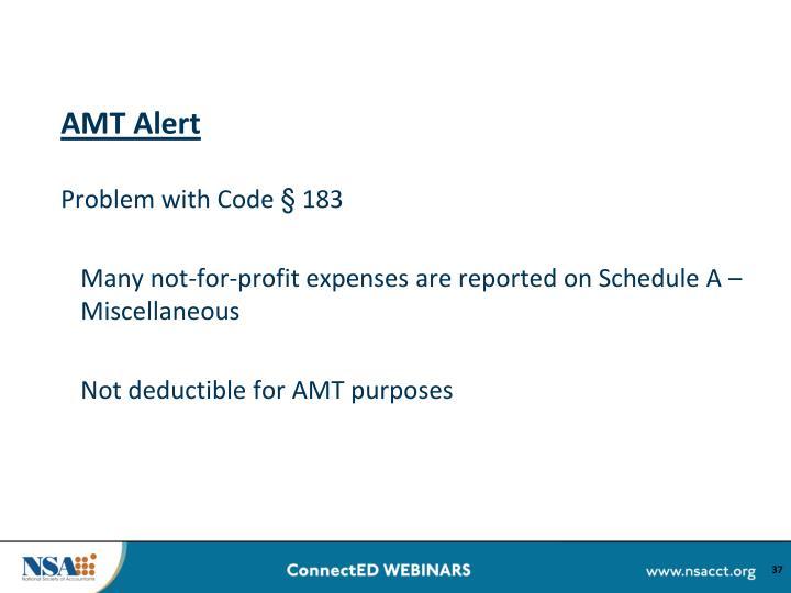 AMT Alert