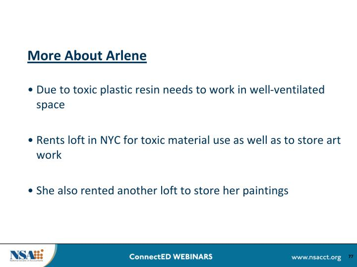 More About Arlene