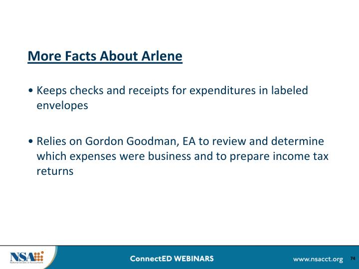 More Facts About Arlene