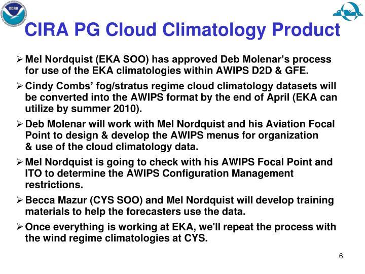 CIRA PG Cloud Climatology Product