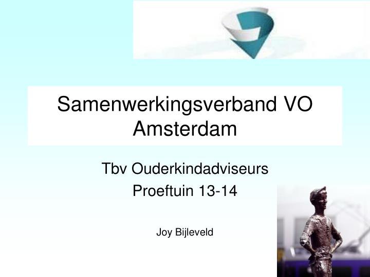 Samenwerkingsverband VO Amsterdam