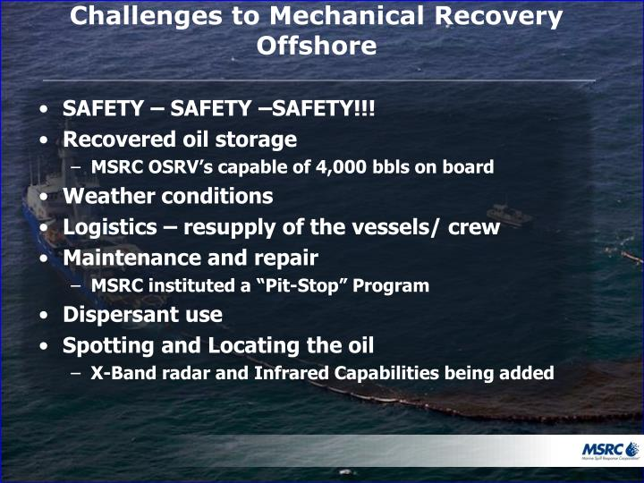 Challenges to Mechanical Recovery