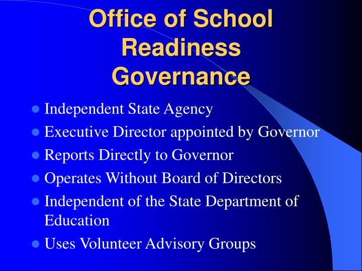 Office of School Readiness