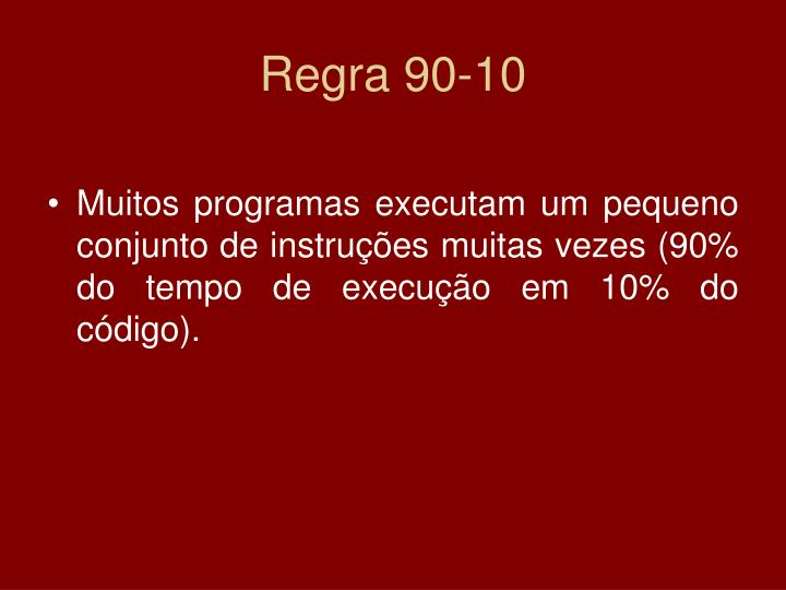 Regra 90-10