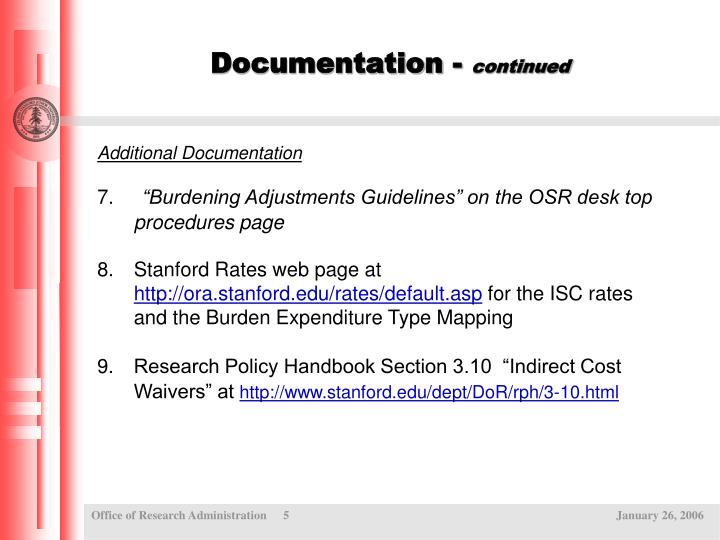 Documentation -