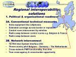 regional interoperability solutions
