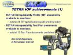 tetra iop achievements 1