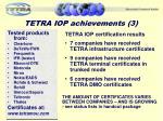 tetra iop achievements 3