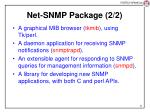 net snmp package 2 2