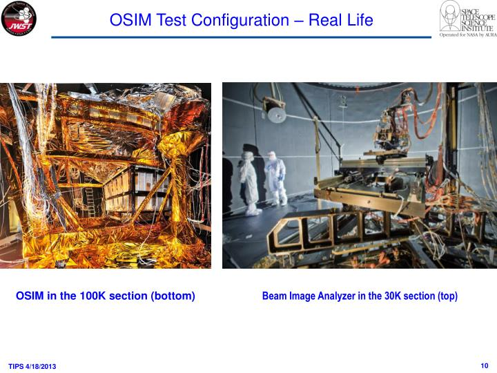 OSIM Test Configuration – Real Life