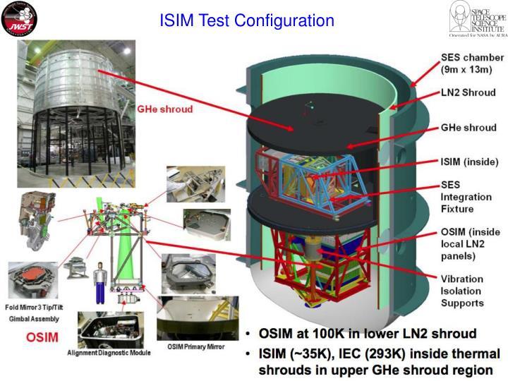 ISIM Test Configuration