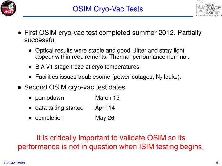 OSIM Cryo-
