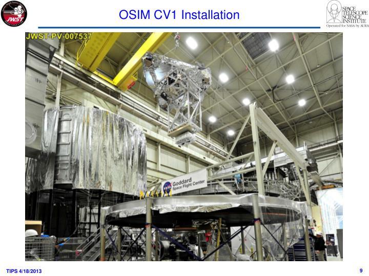 OSIM CV1 Installation
