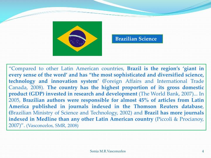 Brazilian Science