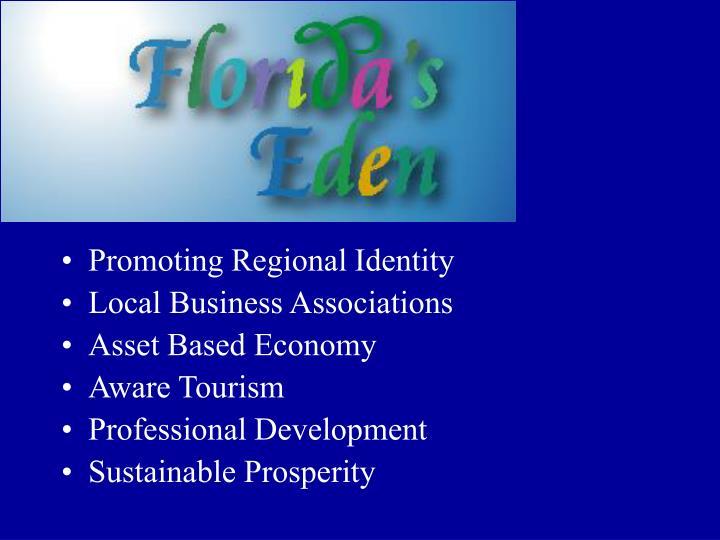Promoting Regional Identity