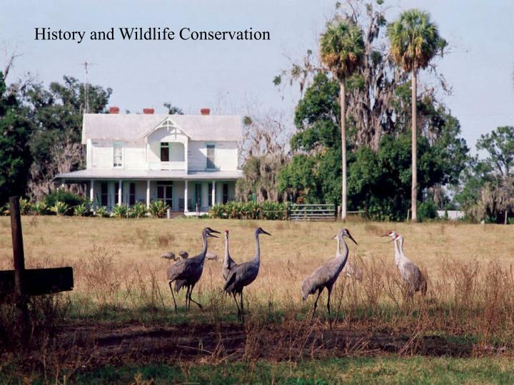 History and Wildlife Conservation