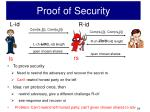 proof of security