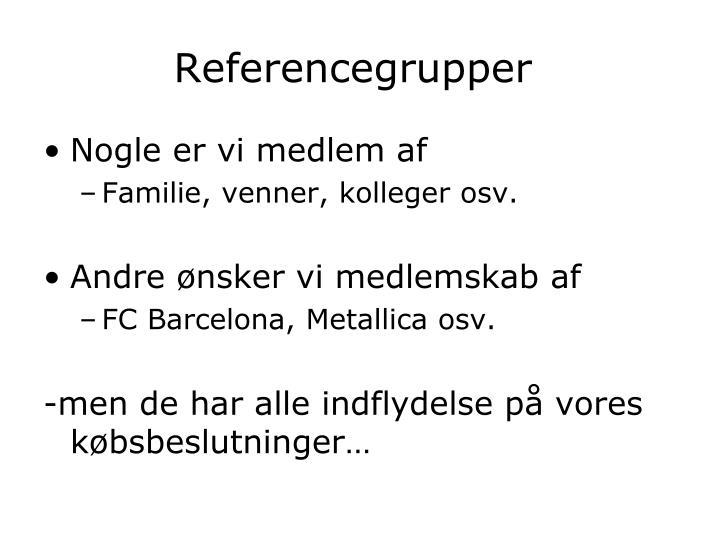 Referencegrupper