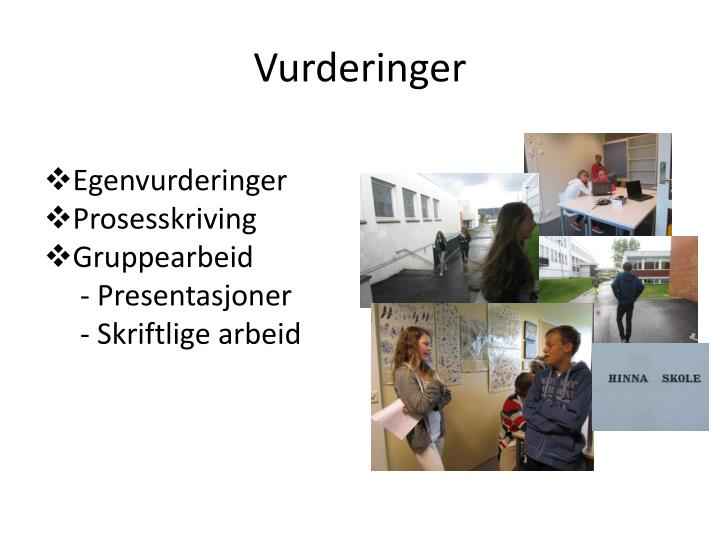 Vurderinger
