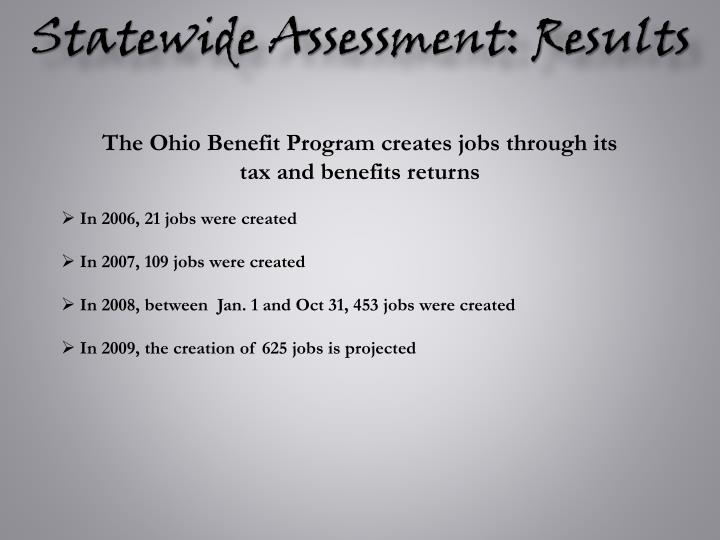 Statewide Assessment: Results