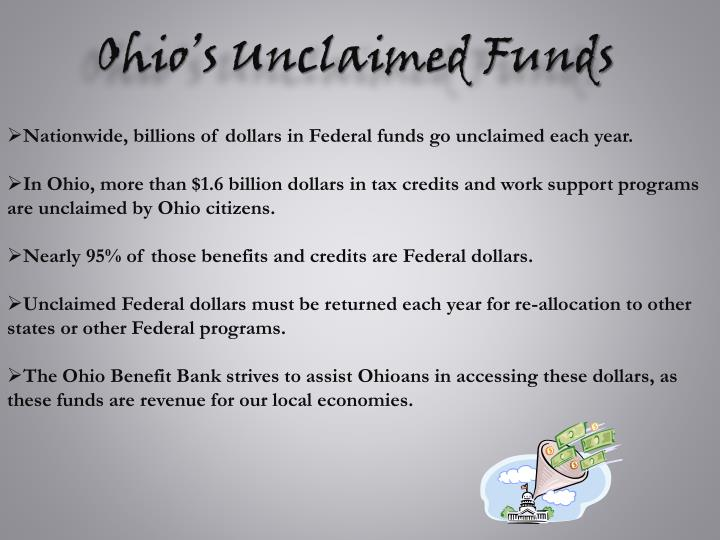 Ohio's Unclaimed Funds