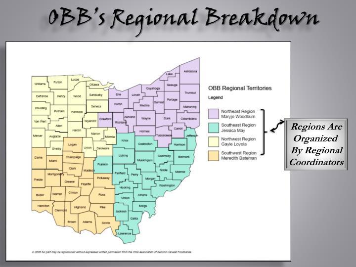 OBB's Regional Breakdown