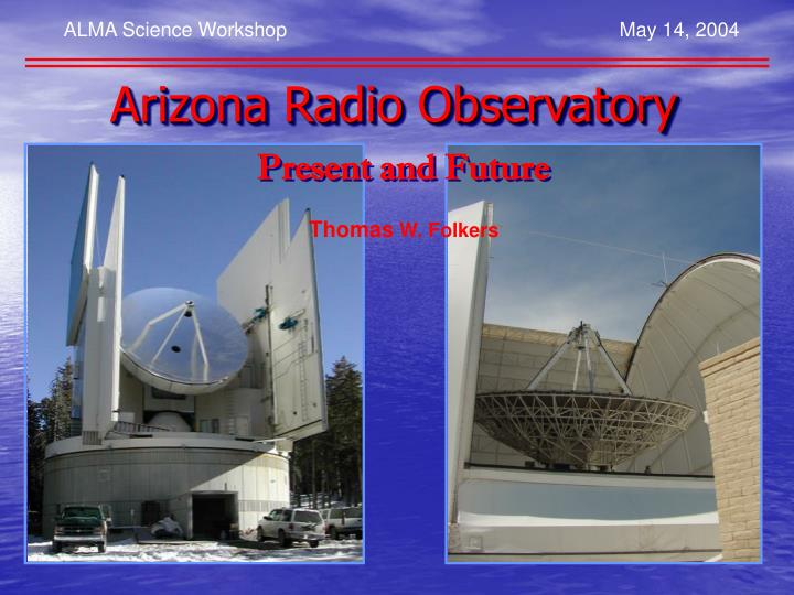Arizona radio observatory