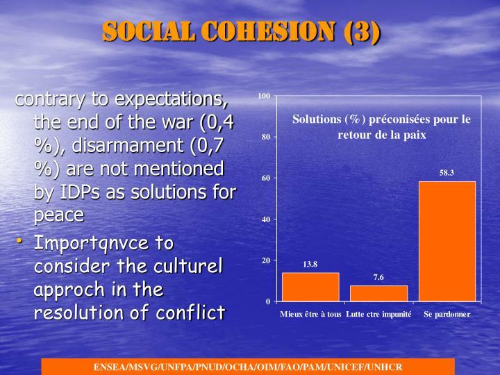 Social cohesion (3)