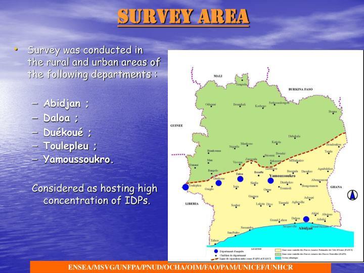 Survey Area