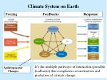 climate system on earth