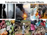 fukushima japan disaster effects