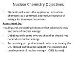 nuclear chemistry objectives2