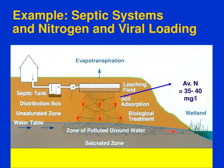 Example: Septic Systems