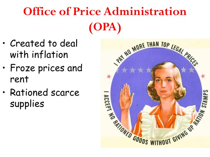 Office of Price Administration (OPA)