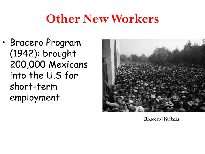 Other New Workers