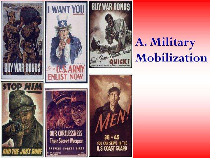 A. Military Mobilization