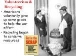 volunteerism recycling